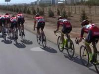 Jak kolarze radzą sobie z bocznym wiatrem