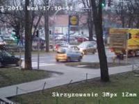 lublin Kilka sytuacji ze skrzyżowania Droga Męczenników Majdanka - Grabskiego - Sulisławicka