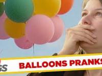 Żarty z balonami