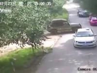 Atak tygrysa w Pekinie.