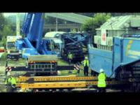 Transport i instalacja 200-tonowego transformatora ABB produkowanego w Łodzi