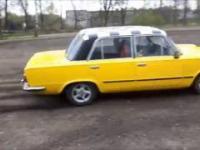 Drift Fiatem 125p