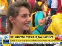 Zdziwiony dziennikarz TVN24 który nie potrafi zrozumieć że Syryjka ot tak przyjechała do Polski