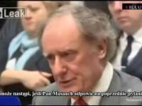 Dziennikarz przyparł do muru bankiera z Europejskiego Banku Centralnego