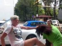 KSW ŻABKA - Pracownice vs Klientki w walce przed sklepem