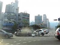 Makabryczny wypadek w Korei Południowej