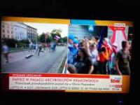 TVP Info wywiad i trollowanie reżimowej dziennikarki na żywo
