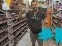 Wszedł do sklepu wziął liny i zrobił coś nie do wytlumaczenia!