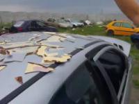 Łowcy szpachli demolują ceramiczny dach