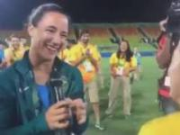 Lesbijskie zaręczyny na Olimpiadzie w RIO