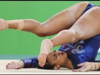 Wypadek brytyjskiej gimnastyczki