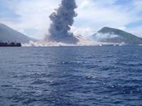 Erupcja wulkanu w Papui-Nowej Gwinei