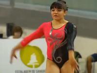 meksykańska gimnastyczka +