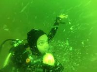 Atak paniki na głębokości 15 metrów pod wodą