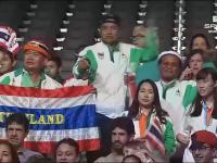 Tak w RIO bawią się kibice z Tajlandii