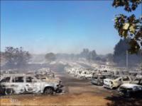 422 spalonych samochodów w Portugalii
