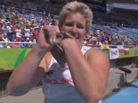 Anity Włodarczyk z nowym rekordem świata zdobywa złoty medal!