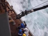 Tankowanie okrętów na morze