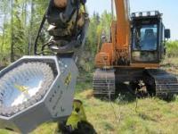Sadzenie drzewek przy pomocy nowoczesnej maszyny