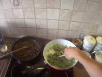 Kulinarny Atak - Polędwiczka z makaronem ryżowym, warzywami w śmietanie i musztardzie (odcinek 6 )