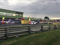 Nietypowy wypadek podczas startu w rajdzie