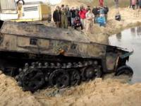 Pulling the WWII Tanks and Armored Troop-Carriers Out of the Swamp
