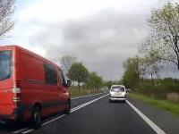 Polskie drogi - wyprzedzanie