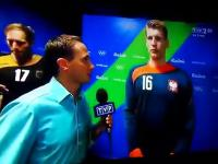 Bardzo emocjonalna wypowiedź Wyszomirskiego po przegranym meczu z Niemcami