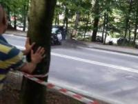 Wypadek podczas górskich samochodowych mistrzostw polski SOPOT