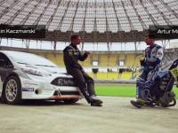 Fiesta ST RX Supercar vs motocykl żużlowy!