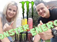 MONSTER ENERGY!!! TESTUJEMY WSZYSTKIE SMAKI!!!