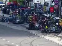 Potężny wypadek w IndyCar. Na szczęście na głowie był kask