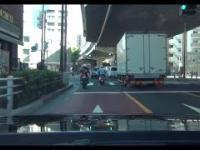 Policyjny pościg w Japonii