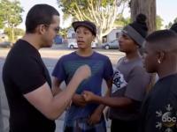 Reakcja czarnoskórych kolesi na magiczną sztuczkę
