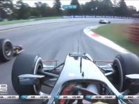 Widowiskowy wypadek podczas wyścigu GP2 na torze Monza