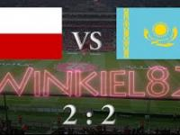 Polska - Kazachstan skrót meczu 04.09.2016 Astana (2:2)