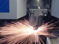 Piękna praca lasera