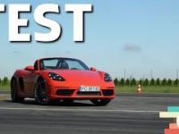 Porsche 718 Boxster S 2.5 350 KM: Pragmatyczny zawodnik - 190 Jazdy Próbne