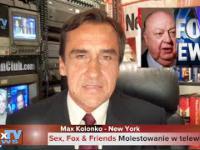 Fox Sex & Family - Molestowane seksualnie dziennikarki Fox News - Max Kolonko Mówi Jak Jest