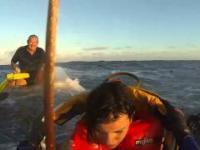 Ratowanie topielców za pomocą helikoptera ratunkowego