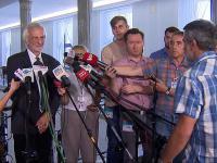 Bójka w Sejmie podczas konferencji wicemarszałka Terleckiego.