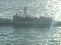 Trafienie torpedą w okręt wojenny