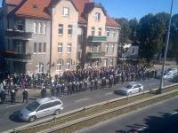 Dobrze zorganizowana akcja policji w Gdańsku
