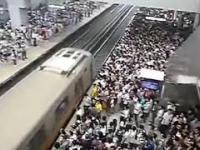 Metro godziny szczytu
