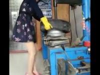 Grażyna - kobieta wulkanizacji