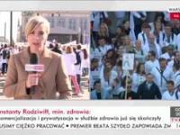 Kolejna manipulacja TVPiS - manifestacja służby zdrowia