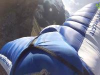 Przelot w kombinezonie wingsuit