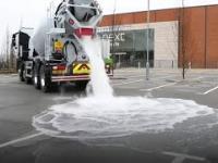 Nowy rodzaj betonu potrafi absorbować wodę