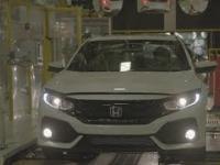 Honda Civic 2017 - produkcja