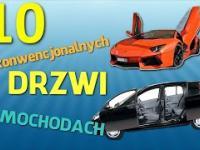 10 niekonwencjonalnych drzwi w samochodach - 61 TOP10